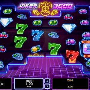 Spielautomat Joker 3600